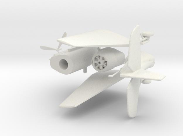 1:144 TBM/F Avenger   in White Natural Versatile Plastic