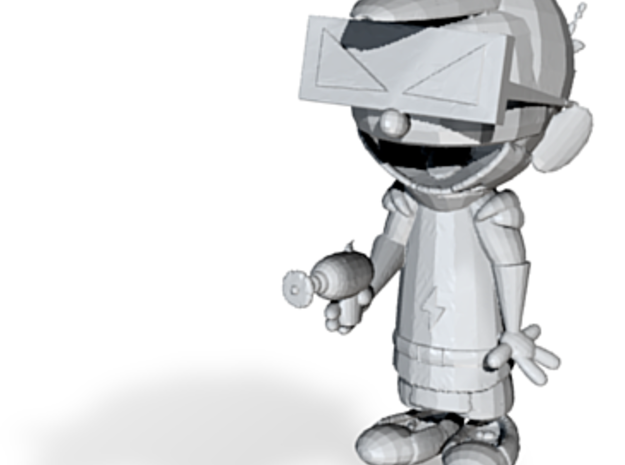 Spaceman Spiff 3 repaired from maya 3d printed
