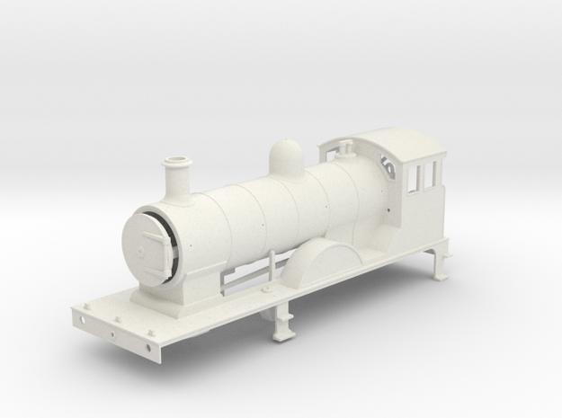 FR K2 - Body - Freelance Variant V4 - WSF in White Natural Versatile Plastic