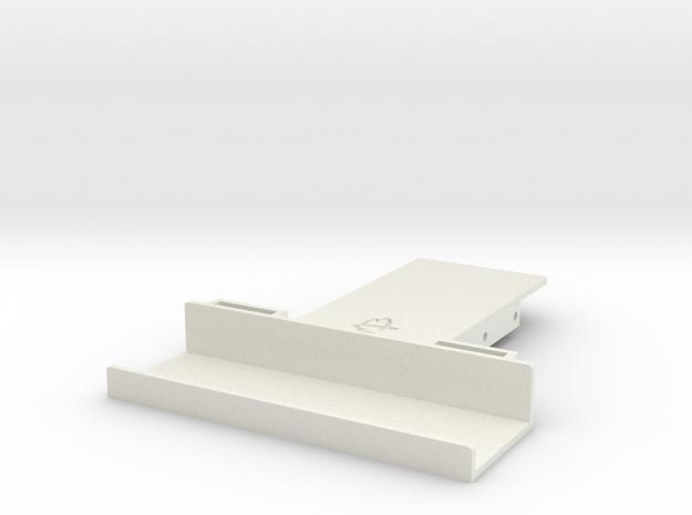 Wraith / Spawn Battery Holder in White Strong & Flexible