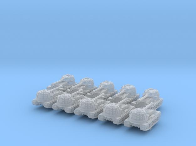 1/600 German VK 72.01 (K) Heavy Tank x10 in Smoothest Fine Detail Plastic