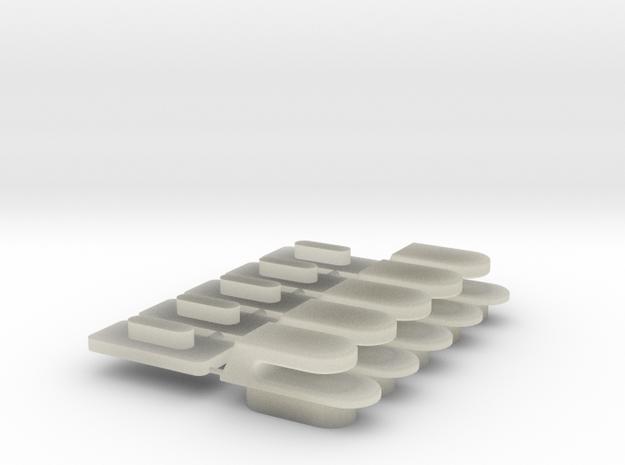 IBM Model F hooks in Transparent Acrylic