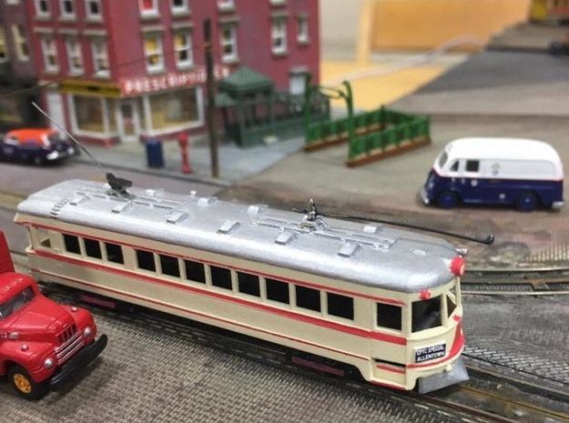 #160-1002 Liberty Bell Limited LVT 1000 series  in Frosted Extreme Detail: 1:160 - N