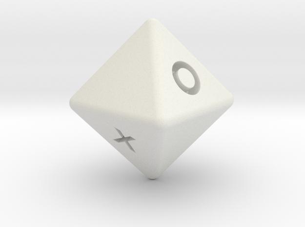 D8 v2 in White Strong & Flexible