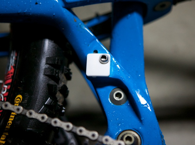 MTB Front Mech Blank Plate 3d printed