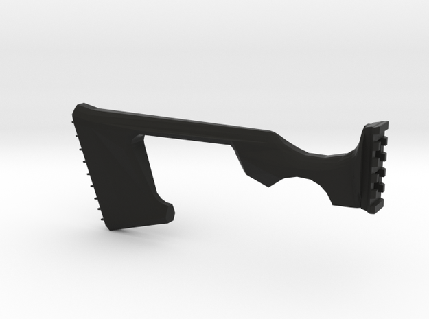 SSSE Shoulder Stock in Black Natural Versatile Plastic