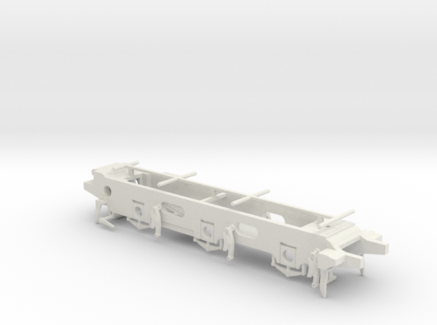 LB&SCR E2  - P4 Chassis in White Strong & Flexible