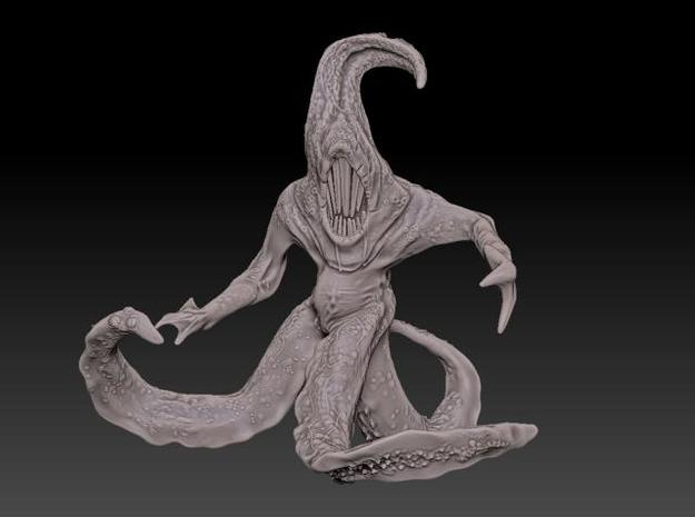 Nyarlethotep Bloody Tongue - Giant Version 3d printed Front View