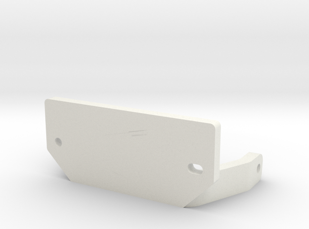 10.2 V-Servo Bracket for Axial & Currie Axles in White Strong & Flexible