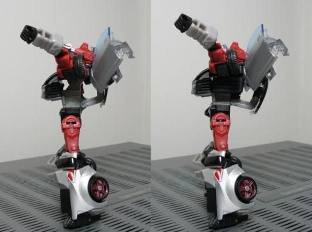 Prowl Filler 1 3d printed Before and After
