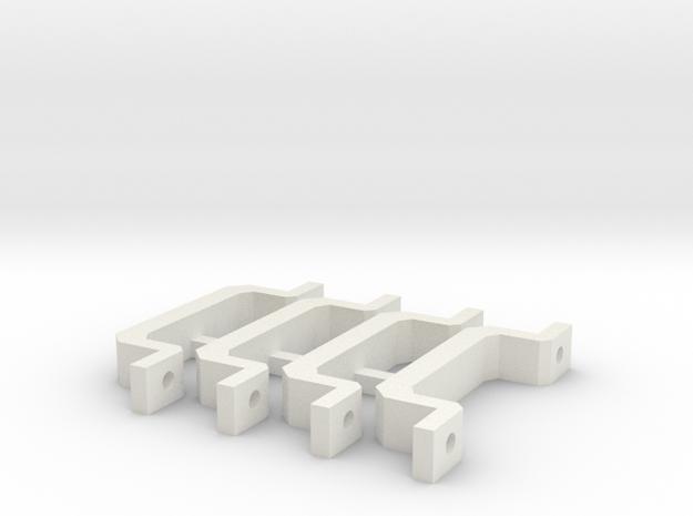 Motor mount - V2 in White Natural Versatile Plastic