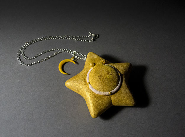 Star Locket 3d printed