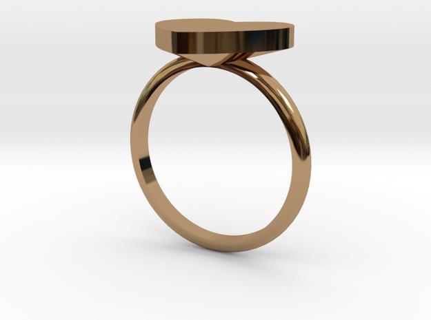 Heart Ring Diameter - Size P18mm