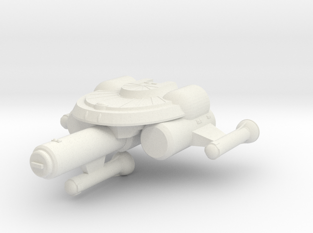 3125 Scale Seltorian Light Cruiser (CL) MGL in White Strong & Flexible