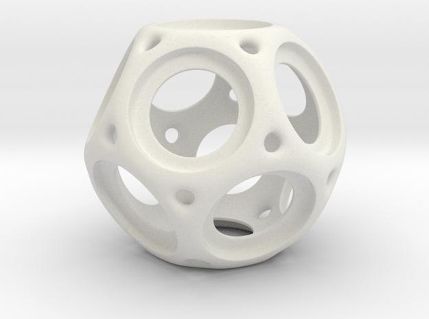 Trekr Bearing Spinner1 in White Strong & Flexible
