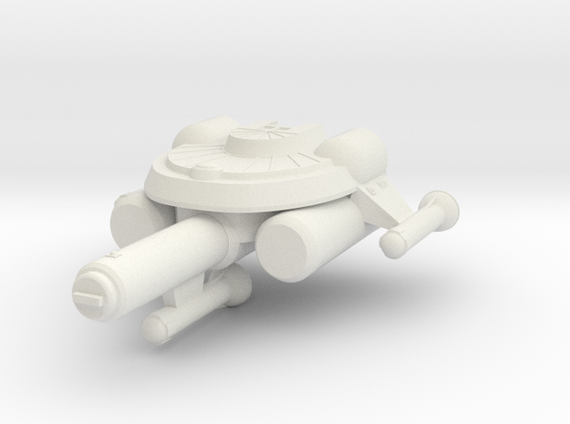 3125 Scale Seltorian Frigate (FF) MGL in White Strong & Flexible