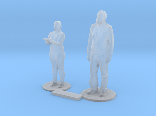 O Scale Standing People 7