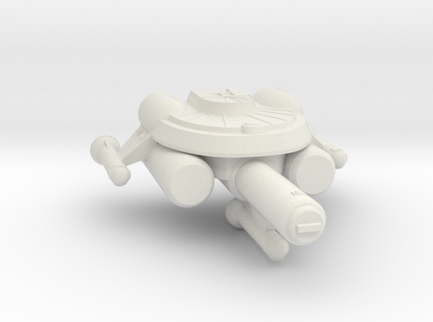3788 Scale Seltorian Frigate (FF) MGL in White Strong & Flexible