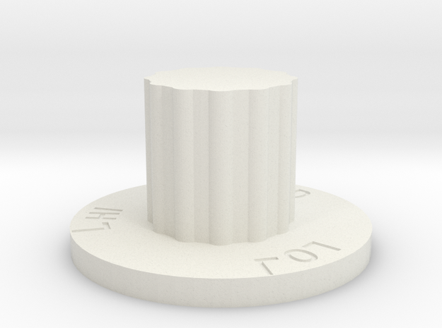 Temp Level in White Natural Versatile Plastic