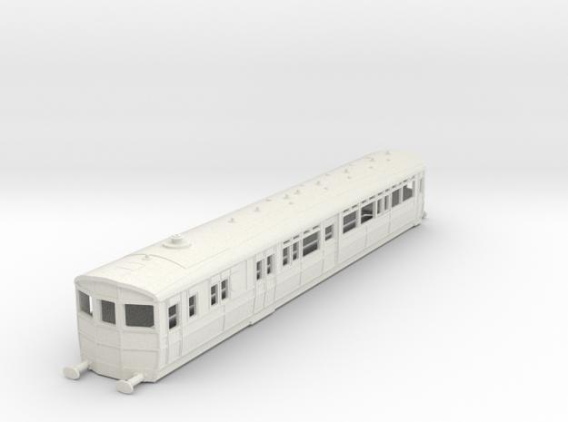 O-87-gwr-diag-q1-r-steam-railmotor1 in White Natural Versatile Plastic