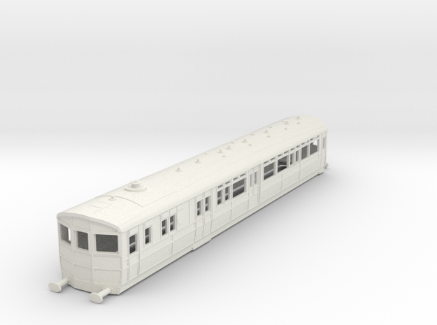 O-100-gwr-diag-q-r-steam-railmotor1 in White Natural Versatile Plastic