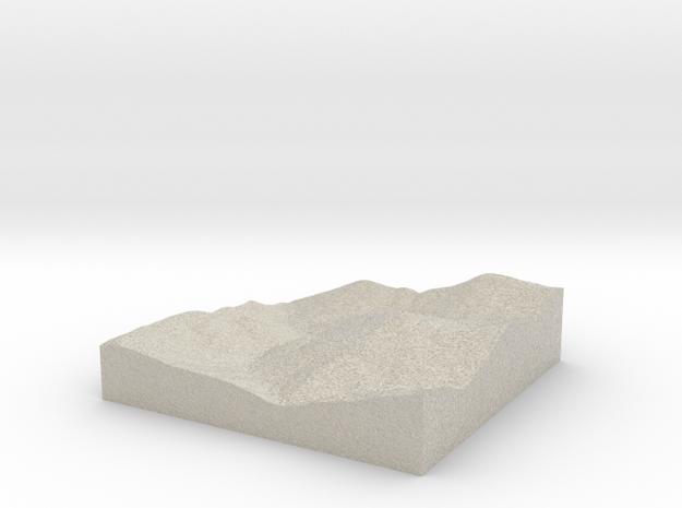 Model of Erickson Mine in Natural Sandstone