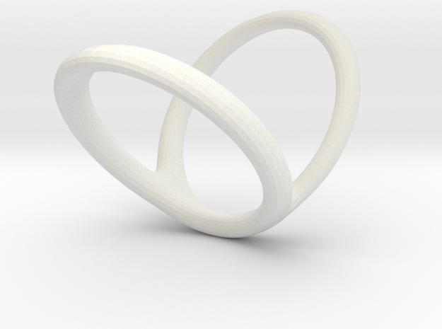 Ring Splint for j_vanmierlo v2 in White Natural Versatile Plastic