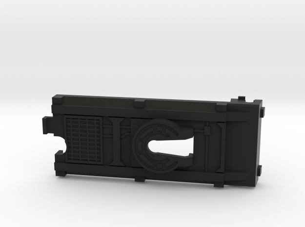 Conventional Battery Cover in Black Strong & Flexible