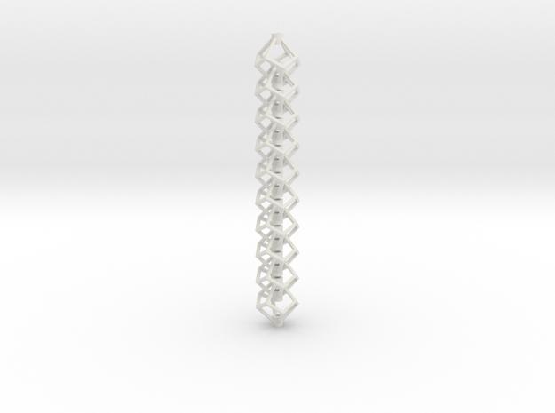 Anti-Diamond Tube Chain, 10 Links
