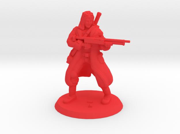 36mm Indestructible Jonny in Red Processed Versatile Plastic