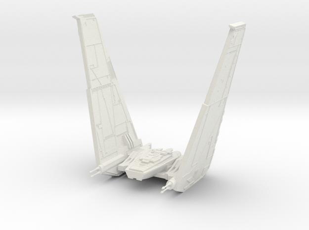 Command Shuttle II in White Natural Versatile Plastic
