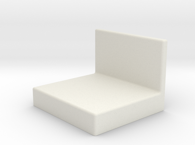 Ikea KALLAX bracket cover in White Natural Versatile Plastic