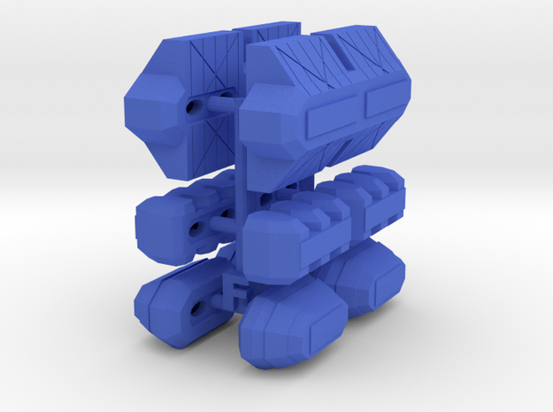 3125 Haydron Cargo Pods in Blue Processed Versatile Plastic