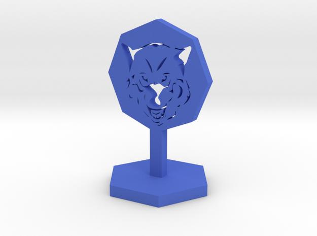 Wolf Marker in Blue Processed Versatile Plastic