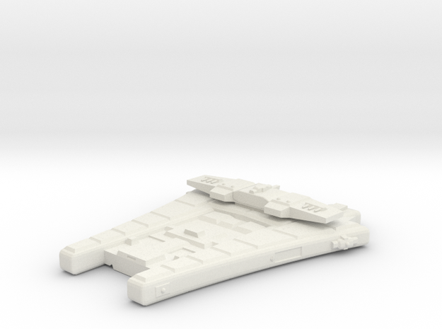 3788 Scale Maesron Heavy Cruiser (CA) MGL in White Strong & Flexible