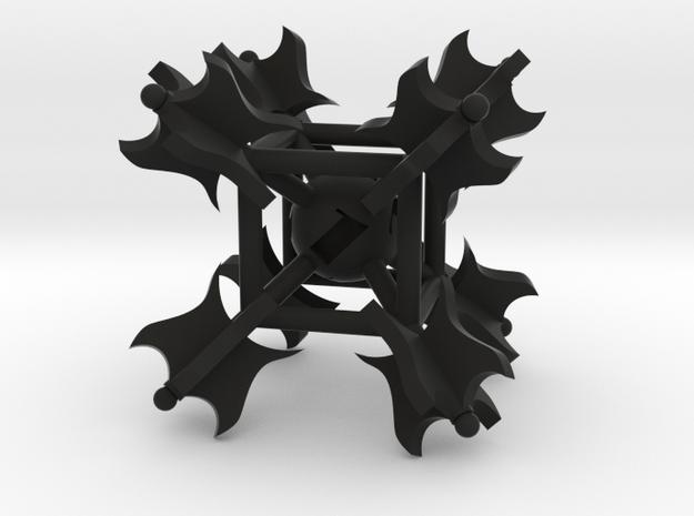 Warmace D6 in Black Natural Versatile Plastic