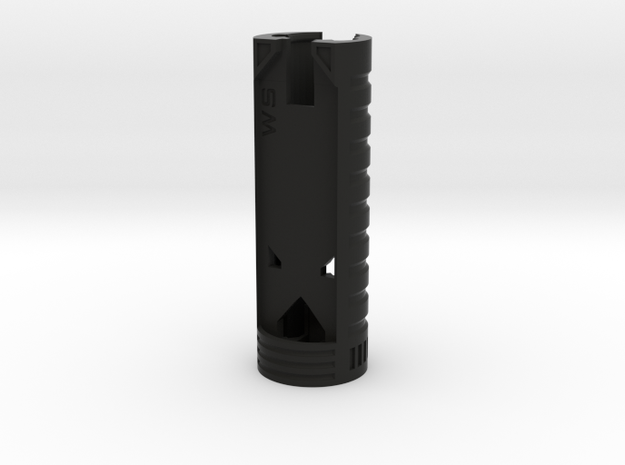 WaSabers Chassis V4.2-A in Black Natural Versatile Plastic