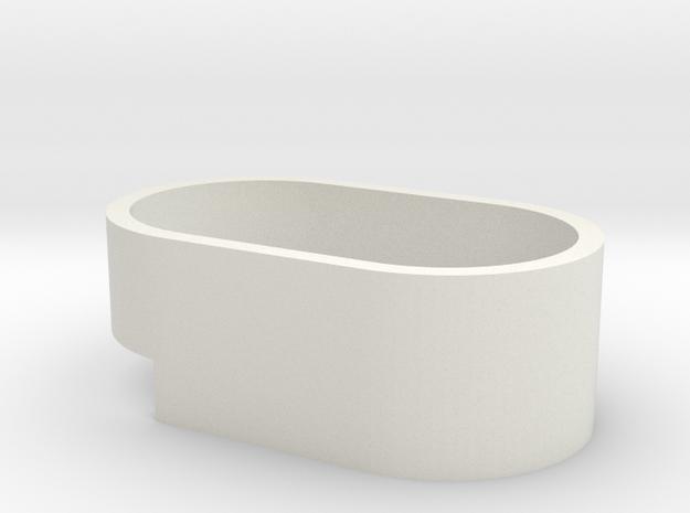 Speaker Base in White Natural Versatile Plastic