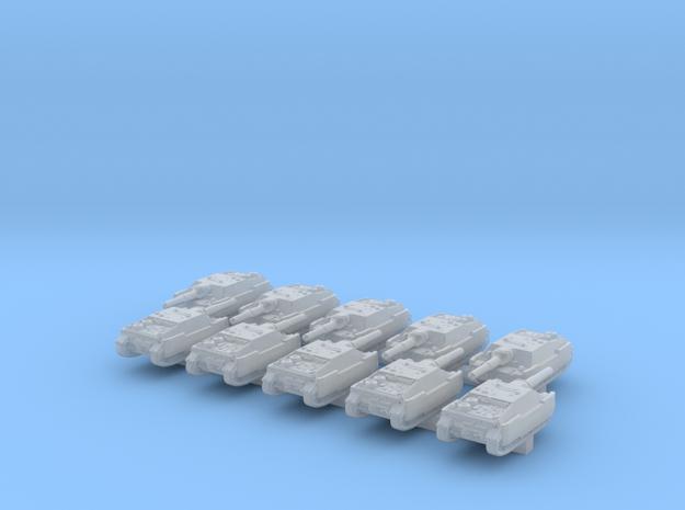1/700 German Jagdpanzer IV Tank Destroyer x10 in Smoothest Fine Detail Plastic