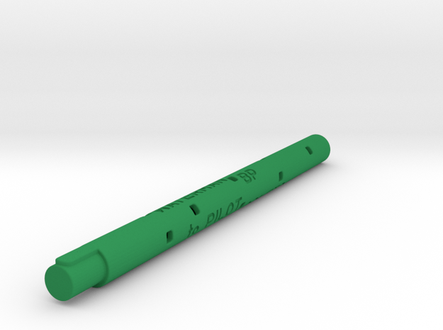 Adapter: Waterman BP To Coleto in Green Processed Versatile Plastic