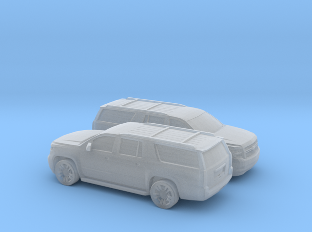 1/200 2015 Chevrolet Suburban in Smooth Fine Detail Plastic