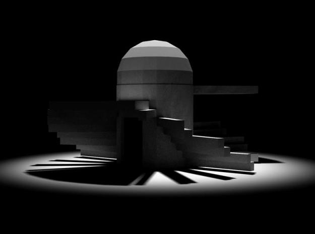 T7 3d printed Architecture from l'Ensemble http://oe-p.net/shiva/