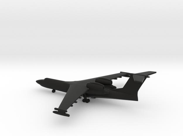 Beriev A-40 Albatros (Be-42) in Black Natural Versatile Plastic: 1:600