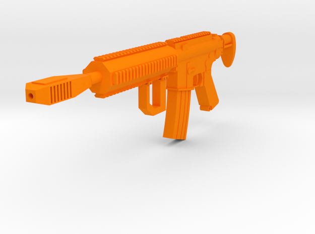 One World M4 Carbine in Orange Processed Versatile Plastic