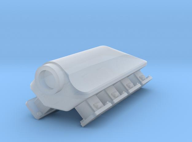 AJPE Hemi 1/18 Turbo Intake 5  in Smooth Fine Detail Plastic