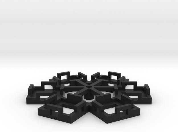 Flight Stand - 6 Dice in Black Strong & Flexible