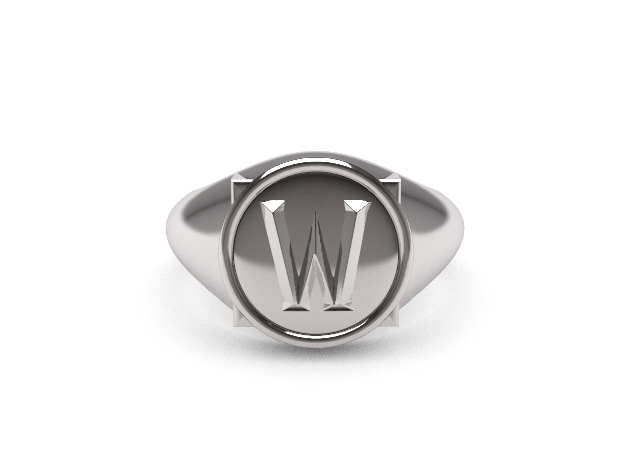 World of Warcraft, the Ring in Polished Silver