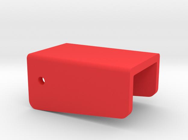 Hacker Klappe 2/3 in Red Processed Versatile Plastic