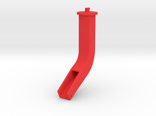 Hacker Rohr 3/3 in Red Processed Versatile Plastic