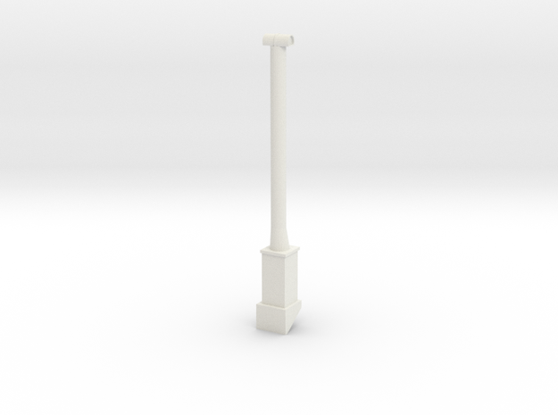 QN Chimney in White Natural Versatile Plastic